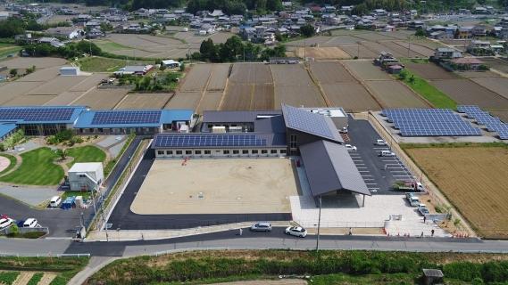 (仮称)障害者支援施設あけみどり太陽光発電システム(74.8kW)設置工事