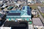株式会社トーマ 東雲倉庫屋根太陽光発電所(76.3kW)設置工事