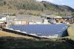 新住太陽光発電所(74.2kW)建設工事